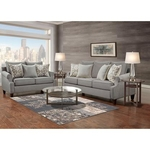 WASHINGTON FURNITURE TRISTEN-COLLECTION-GREY-8PC-PK