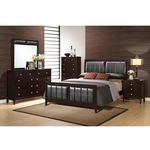 GLOBAL CAROLINE-QUEEN-7PC-BEDROOM-PKG