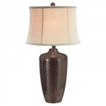 ANTHONY CALIFORNIA M1869OB-HAMMERED-METAL-LAMP-x1