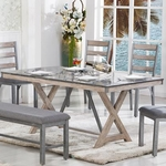 LIFESTYLE ENTERPRISE C1768D-DTX-XXXX-DINING-TABLE