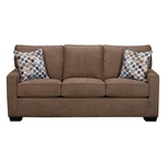 SIMMONS UPHOLSTERY 9025-QUEEN-SLEEPER-SOFA-LATTE