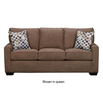SIMMONS UPHOLSTERY 9025-FULL-SLEEPER-SOFA-LATTE