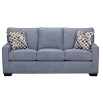 SIMMONS UPHOLSTERY 9025-QUEEN-SLEEPER-SOFA-DENIM