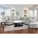 J HENRY ANGELINA-6PC-SECTIONAL-PACKAGE