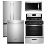 WHIRLPOOL WHI-4-PIECE-KITCHEN-PACKAGE