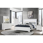 GLOBAL POMPEI-WHITE-6PC-KING-BEDROOM