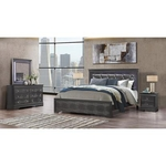 GLOBAL POMPEI-GREY-6PC-QUEEN-PACKAGE