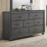 DAVIS HOME 2707-1-7-DRAWER-DRESSER