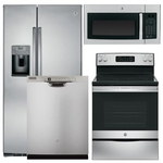 GENERAL ELECTRIC GE-4-PIECE-KITCHEN-PACKAGE