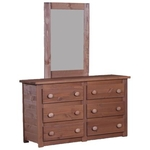 PINE CRAFTER FURNITURE MAH-4051-MIRROR