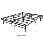 GLIDEWAY BED CARRIAGE MAN SPS14BLK-Q-QUEEN-PLATFORM-BED