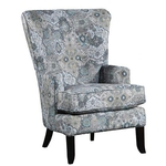 J HENRY 1316-18/628-60-WING-CHAIR