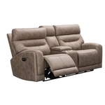 VOGUE HOME FURNISHINGS PX2020-02C-MUSHR-RECL-LOVESEAT