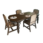 VINTAGE FURNITURE LLC TIFFANY-5PC-DINING-PACKAGE