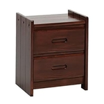 WOODCREST MANUFACTURING XNS100-WOODCREST-NIGHT-STAND