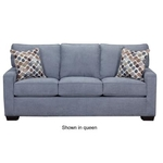 SIMMONS UPHOLSTERY 9025-FULL-SLEEPER-SOFA-DENIM