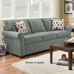 SIMMONS UPHOLSTERY 1530-MINI-SLEEPER-SOFA-SPA