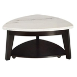 STEVE SILVER COMPANY FC340CAS-MARBLE-COCKTAIL-TABLE
