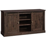 "SAUDER 420750-65""-COFFEE-OAK-TV-STAND"