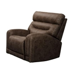 VOGUE HOME FURNISHINGS PX2020-01P2-CHOCO-PWR-RECLINER
