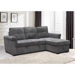 AC PACIFIC CORP NAOMI-SOFA-SLEEPER-STRG-CHAISE