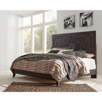 ASHLEY PAXBERRY-KING-BED-CHARCOAL